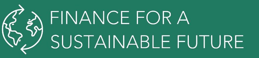 Finance for a Sustainable Future